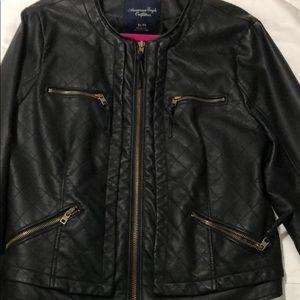 American Eagle Leather Jacket